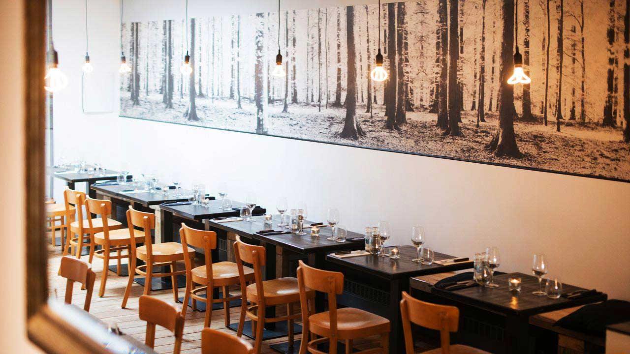 Interieur Steak restaurant LeSteak'17 Antwerpen